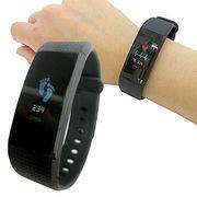 【健康管理】心拍数、歩数、血圧などをチェック!スマートウォッチ カラーVer