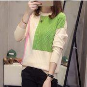 【大きいサイズXL-4XL】ファッション/人気トップス♪アカ/グリーン2色展開◆