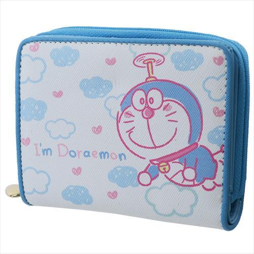 【財布:レディース】ドラえもん/二つ折り財布/I'm Doraemon