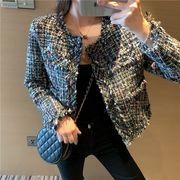 全2色 韓国ファッション エレガント ジャケット