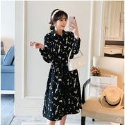 【大きいサイズXL-5XL】【秋冬新作】ファッション/人気ワンピース