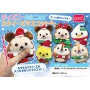 「クリスマス」「squishy」ディズニーむにコロスクイーズマスコットBC  Ver.2