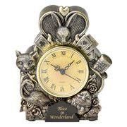 置き時計(Alice in wonderland)