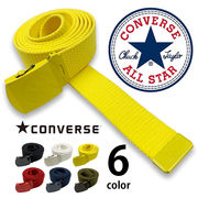 【日本製】 全6色 converse コンバース カラー ロングガチャベルト カラフル GIベルト