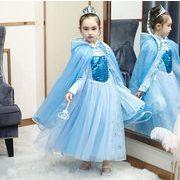 ハロウィン フォーマル キッズドレス アナと雪の女王 子供服 ピアノ発表会 プリンセスドレス