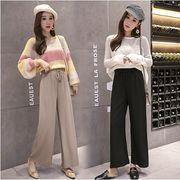 【大きいサイズXL-4XL】ファッション/人気パンツ♪ブラック/アンズ2色展開◆