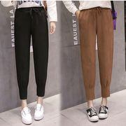 【大きいサイズXL-5XL】ファッション/人気パンツ♪ブラウン/ブラック2色展開◆