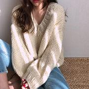 ネット レッド セーターの女性 ルース アウトドア 秋 新しいデザイン 韓国風 アンティ