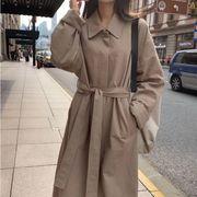 【NEW】ベーシックトレンチコート★トレンチコート★秋コート★アウター★定番★韓国ファッション