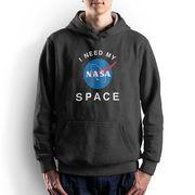 NASA公認(アメリカ航空宇宙局)・パーカー・JERZEES(ジャージーズ)ボディ・インサイニア(ミートボール)