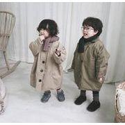 子供冬コート 厚手 女の子 男の子 キッズ 中綿コート 防寒 長袖 2色