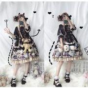 かわいい少女 かわいいワンピース lolitaワンピースロリータ 萌え係 ワンピース コスプレ アリス