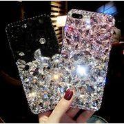 iPhone7 ケース きらきらスマホケース バイカラー iPhoneXR背面カバー 携帯カバー