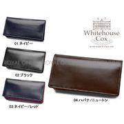 S) 【ホワイトハウスコックス】 S8819 財布 ミディアム クラッチ パース 本革 全5色 メンズ レディース