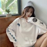秋冬新作 トップス 長袖 スウェット オシャレ スポーツ レディースファッション 韓国