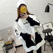 秋冬新作 731562 大きいサイズ 韓国 レディース ファッション  裹起毛  パーカー   LL-4L