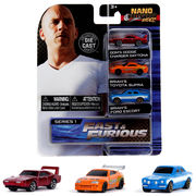 Nano Hollywood Rides FAST & FURIOUS 3-PACK SERIES 1 【ワイルドスピード ミニカー】