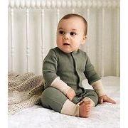 2色★ロンパース★激安★男女兼用★子供服★キッズ服★赤ちゃん着可愛い★連体服★★66cm-90cm