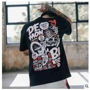 新作★メンズ★トップス★Tシャツ ★ゆとり★半袖★