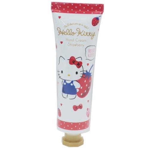 【コスメ雑貨】ハローキティ ハンドクリーム ストロベリーの香り