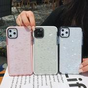 iPhoneXSケース クリアカバー アップル iPhoneXR iPhone11 ダイヤカット