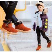 2019年新作【子供靴】★秋冬新品★可愛いデザインの子供靴★裏起毛★スニーカー★ふわふわ★5色23-36