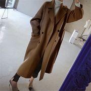 韓国ファッション ロング コート 美シルエット