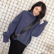 韓国ファッション ゆったり ニットセーター