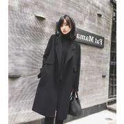 韓国ファッション コート 秋冬スタンダードベーシック