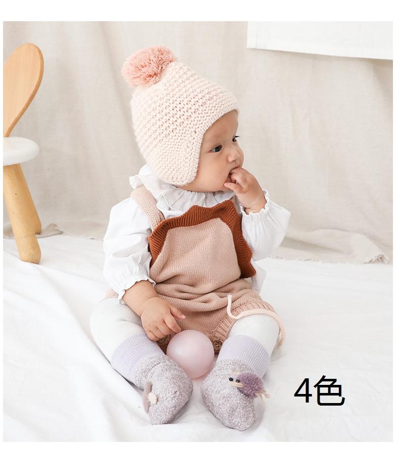 子供 ソックス ベビー用 靴下 ベビー 子供用フォー 厚くする 冬 0-3歳