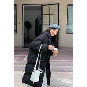 秋冬新入荷★  帽子   厚い   ロングセクション  韓国ファッション   綿入れ   アウター