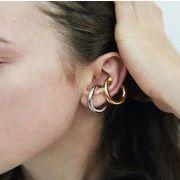 激安☆韓国系原宿系★ピアス★イアリング★オーバー耳飾り earrings★幾何学模様 メタルパーツ イヤーカフ