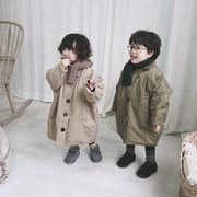 韓国子供服 裹ボア 男女兼用 キッズ アウター 子供用 トップス 冬服  韓国ファッション  80-130CM
