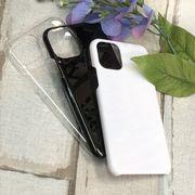 プリント・デコ用素材★iPhone11用☆ハードケース★ポリカーボネート 全3色