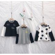 【TGB】秋キッズファッション★★子供 重ね着物 トップス