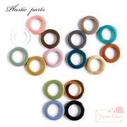 大人カラーのラウンドリングパーツ 全16色 10個 /YM1-1280