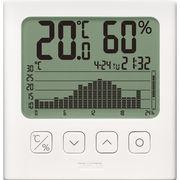 タニタ グラフ付きデジタル温湿度計