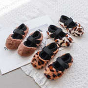 秋冬 新しいデザイン 児童 厚さプラス 暖かい コットン靴 女児 何でも似合う レジャー
