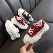 コットン靴 裏起毛 白い靴 児童 カジュアルシューズ 男児 ウインター 靴 女児 二 コ