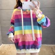 春夏新作 732004大きいサイズ 韓国 レディース ファッション    パーカー   LL-4L