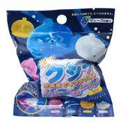 【入浴剤】光るクジラ マスコットが飛び出るバスボール