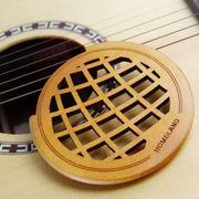 40 ' 41' くりぬいた マホガニー サウンドホールカバー アコースティック クラシックギター用と民俗ギター