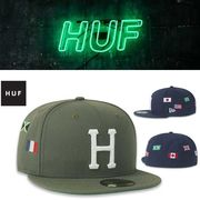 HUF WORLD TOUR NEW ERA FITTED HAT  18265