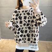 春夏新作 732062大きいサイズ 韓国 レディース ファッション    Tシャツ   LL-4L