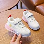 春バージョン 新しいデザイン 女児 スポーツシューズ ファッション 児童 古い ? 靴