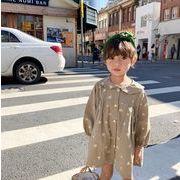 2020春新作 ワンピース キッズ 女の子 韓国子供服 カジュアル 韓国ファッション