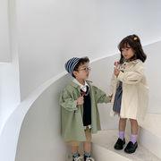 キッズ トレンチコート コート 子供服 アウター 厚手 通学 裏起毛 おでかけ 2020新作 セール