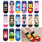 韓国 ディズニー&ピクサー 靴下 18種アソート レディース くつした フリーサイズ