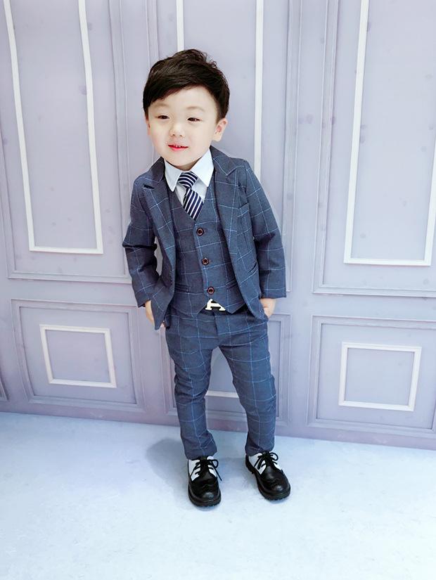 2020新作子供服 スーツ 入園 卒業式 入学式 発表会 結婚式 3点セット こどもスーツ 2色 90-140cm