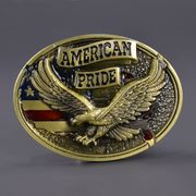 ベルトバックル イーグル 星条旗 AMERICAN PRIDE 1616